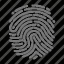 detective, spy, fingerprint