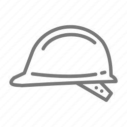 construction, energy, hard, hat, plastic, protection, safety icon