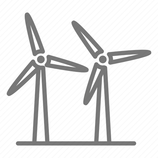 blade, clean, energy, generator, power, turbine, wind icon