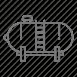 energy, flame, gas, liquid, power, propane, tank icon