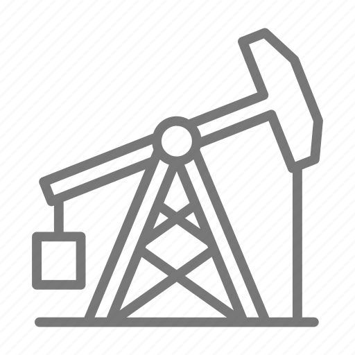 dig, drill, energy, gas, oil, rig, well icon