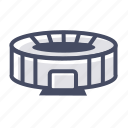 arena, football, place, soccer, sports, stadium, zone icon