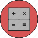 business, calc, calculating, calculator, finance, financial, mathematics icon