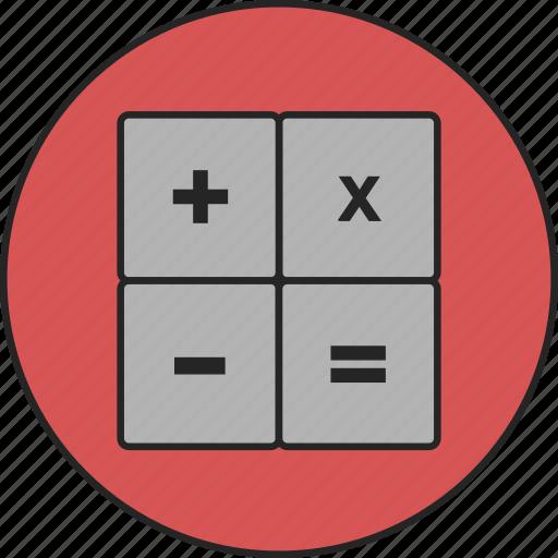 business, calc, calculating, calculator, finance, financial, mathematics icon