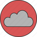 cloud, computing, network, online, online storage, storage, web icon