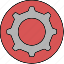 cog, cogwheel, configuration, details, menu, preferences, settings icon