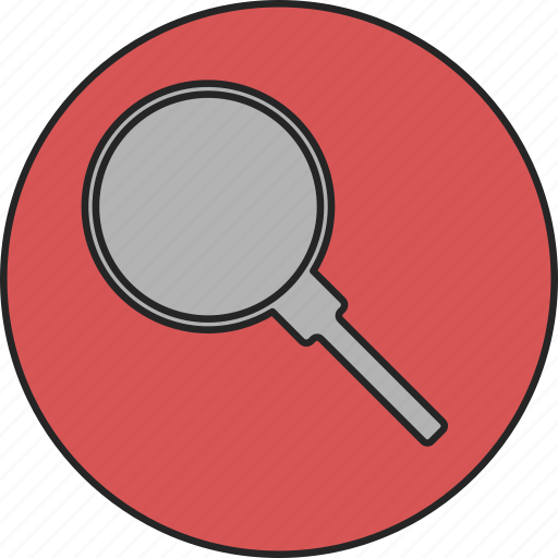 find, glass, looking glass, magnifier, magnifying, search, zoom icon