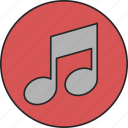 audio, melody, music, song, sound, track, tune icon