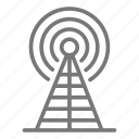 antenna, media, network, signal, technology, tower, wireless icon