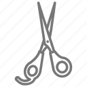 cut, hair, salon, scissors, shears, trim icon