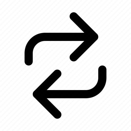 arrow, exchange, refresh, reload, update icon