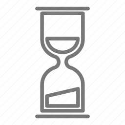 clock, countdown, hourglass, sand, time, timepiece, timer icon