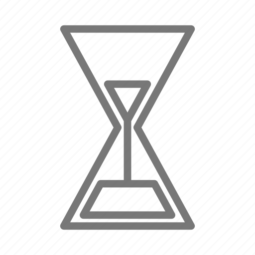 clock, hour, hourglass, sand, time, timepiece, timer icon