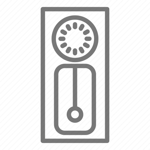 bell, chime, clock, grandfather, hour, time icon