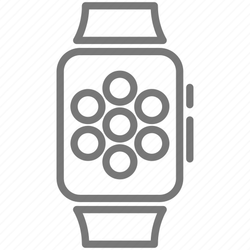 app, apple watch, clock, strap, time, ui, watch icon