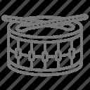 kid, drum, toy, music icon