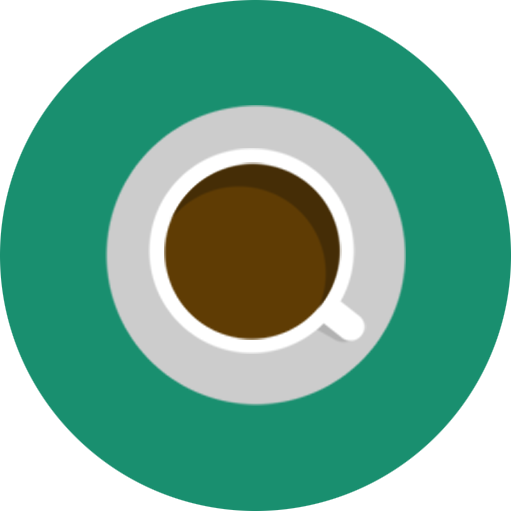 Brown, cafe, coffee, green, minimal icon | Icon search engine