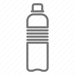 bottle, disposable, drink, plastic, thirsty, water icon