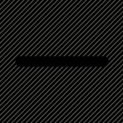 accordion, close, collapse, hide, minus, remove icon