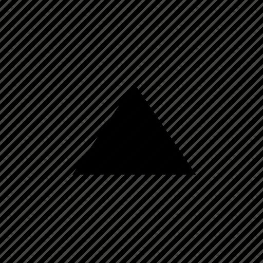 arrow, scroll, up icon