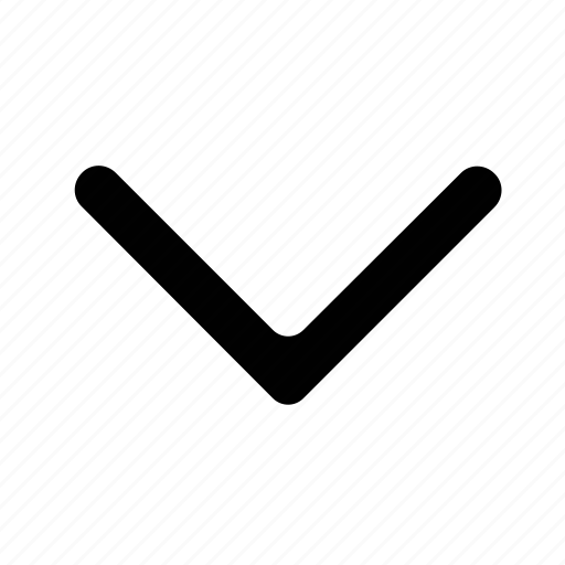 arrow, chevron, down, scroll icon