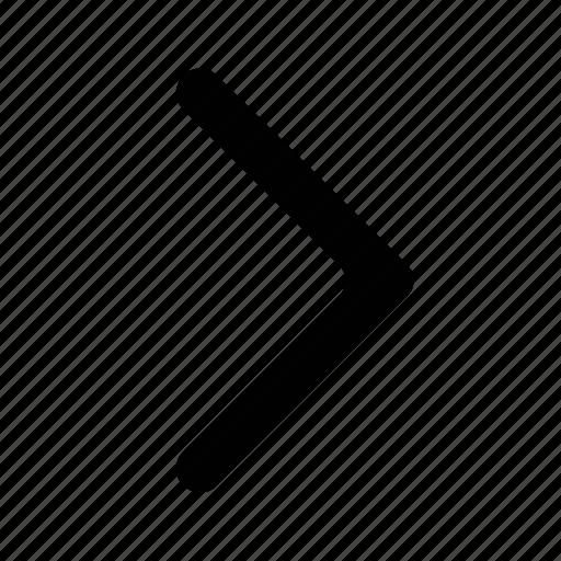 arrow, chevron, next, right icon