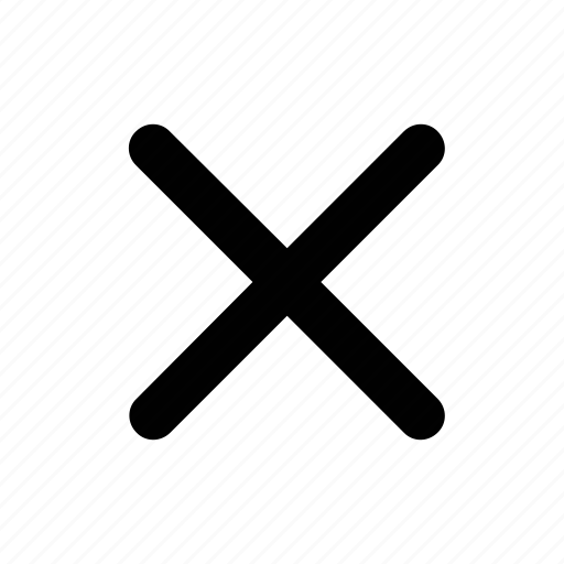 cancel, close, invalid, menu icon
