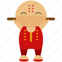 asian, avatar, ninja, person, profile, sport, user icon