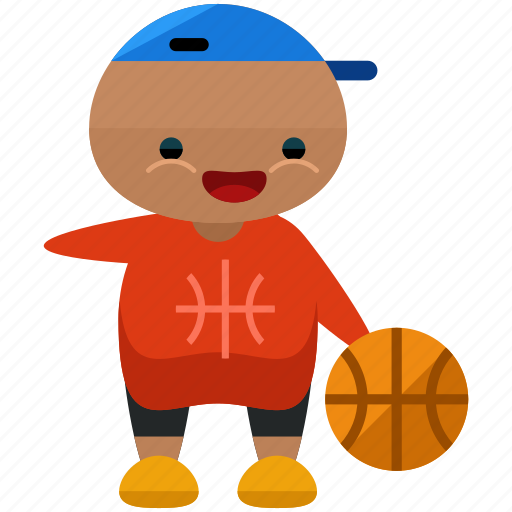 athlete, avatar, basketball, person, profile, sport, user icon