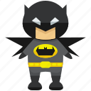 avatar, batman, character, person, profile, user icon
