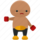 avatar, boxer, person, profile, sport, user icon
