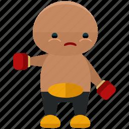 avatar, boxer, person, profile, sport, user icon