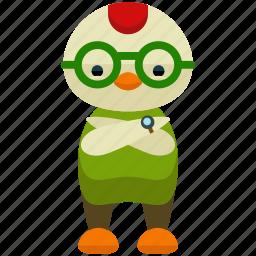 avatar, chicken, person, profile, user icon
