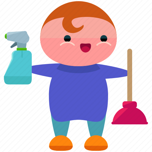 avatar, cleaner, cleaning, person, profile, user icon