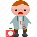 avatar, doctor, medical, person, profile, user
