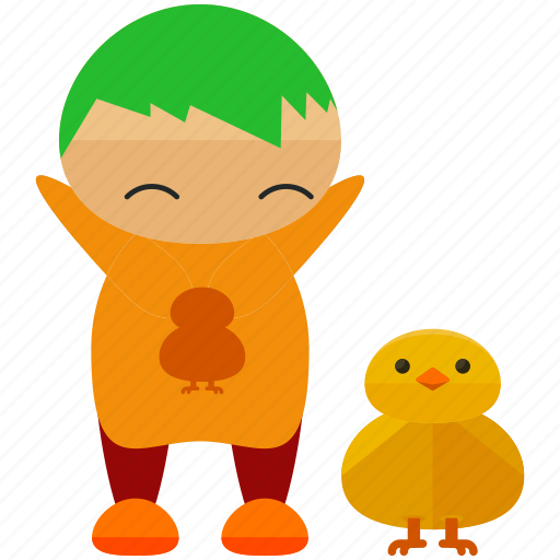 animal, avatar, ducklet, person, profile, user icon