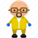 avatar, hazardous, person, profile, user, worker icon