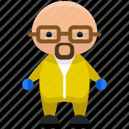avatar, hazardous, person, profile, user, worker icon