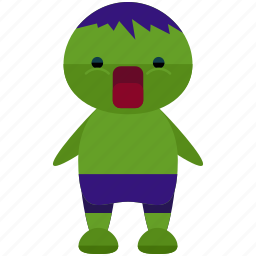 avatar, character, hulk, person, profile, user icon