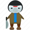avatar, criminal, jason, person, profile, user, voorhees icon