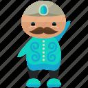 avatar, man, moustache, person, profile, user