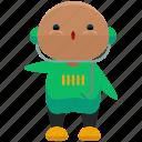 avatar, man, music, person, profile, user