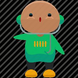 avatar, man, music, person, profile, user icon