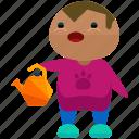 avatar, farmer, gardener, person, profile, user