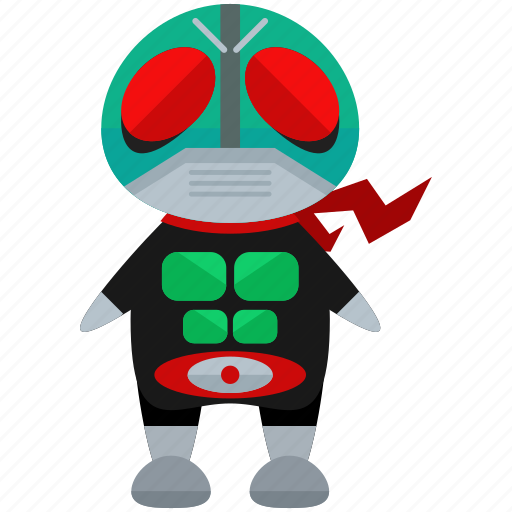 avatar, character, ninja, person, profile, user, villian icon