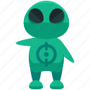 alien, avatar, person, profile, user icon