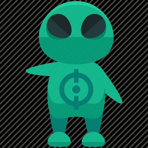 alien, avatar, person, profile, user icon