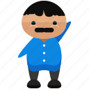 avatar, character, march, person, profile, randy, user