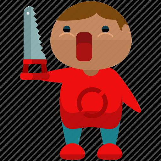 avatar, man, person, profile, saw, user icon