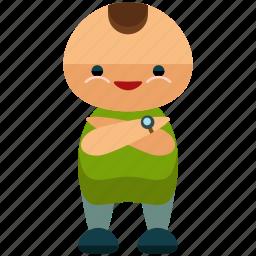 avatar, man, person, profile, smile, user icon